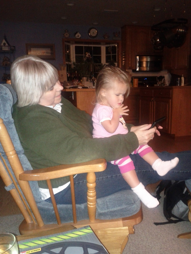 Grandma and KBear