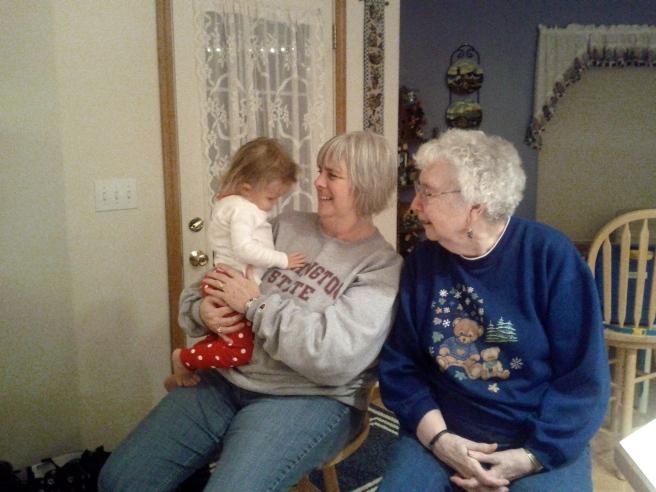 Kaili, Grandma and Great Gramndma