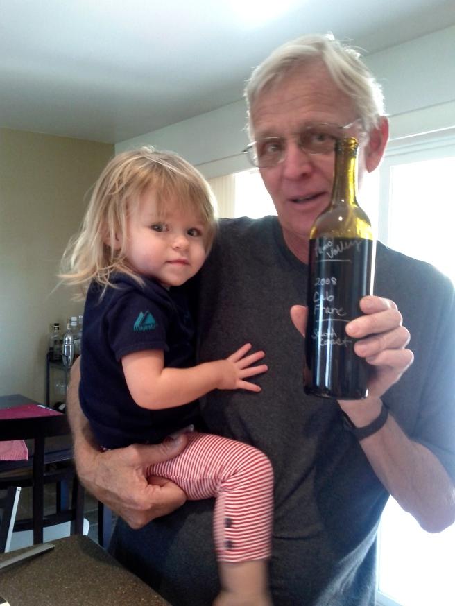 Uncle Brian brings us delicious wine
